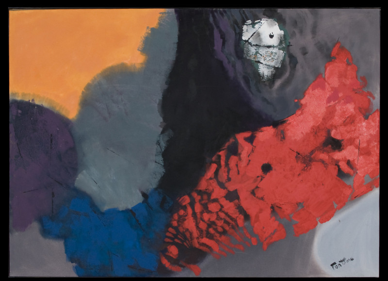 Autume, 1992. Acrylic on canvas, 63 x 48 in. (160 x 122 cm), Austin, TX