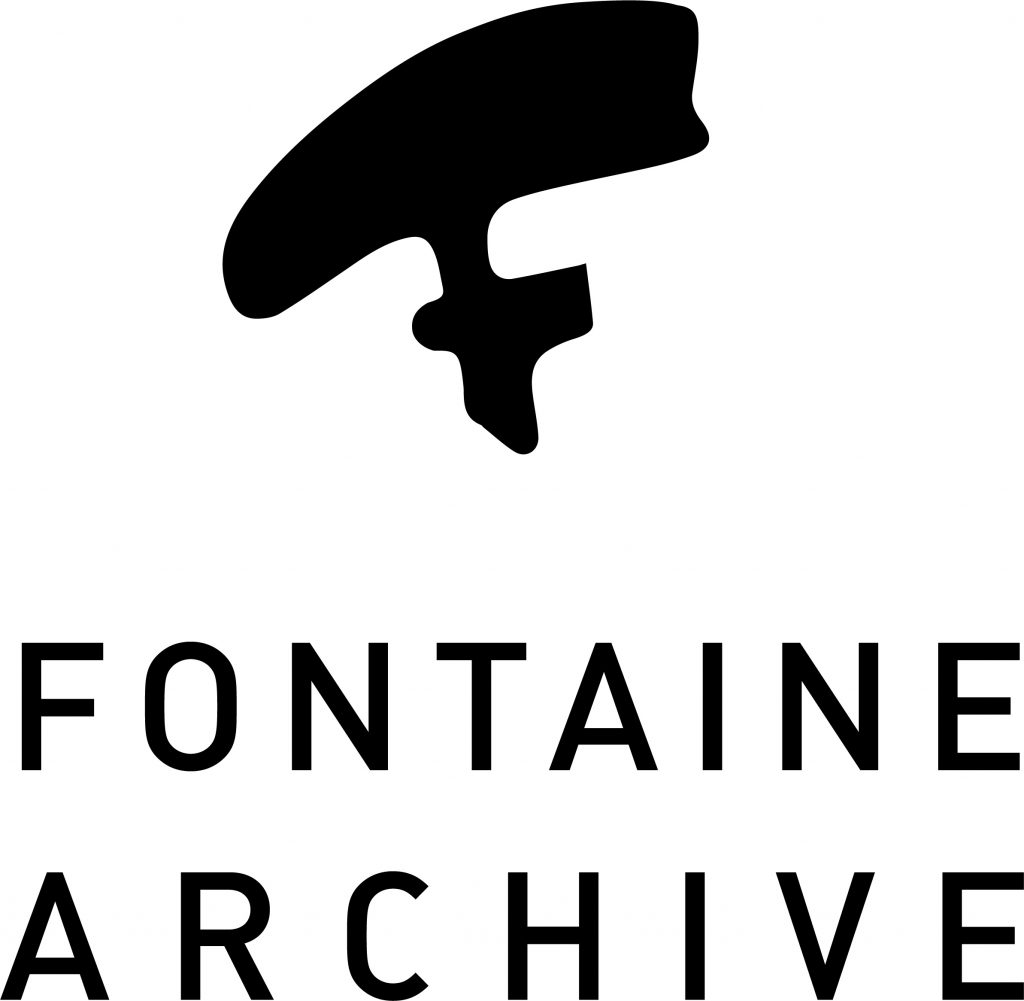 Logo reads Fontaine Archives